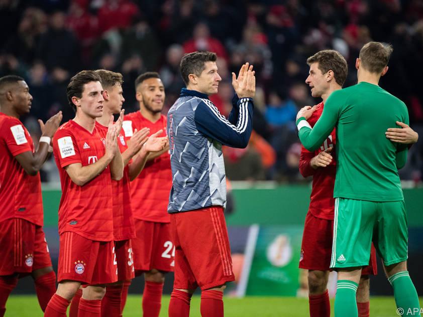 Die Bayern wollen den Aufwind der letzten Spiele mitnehmen
