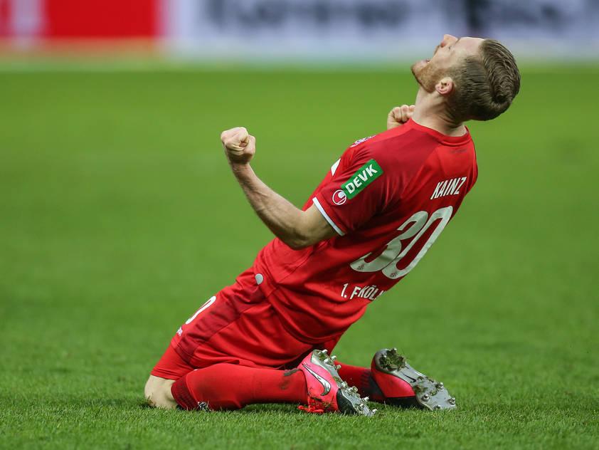Florian Kainz jubelte über seine ersten beiden Saisontreffer