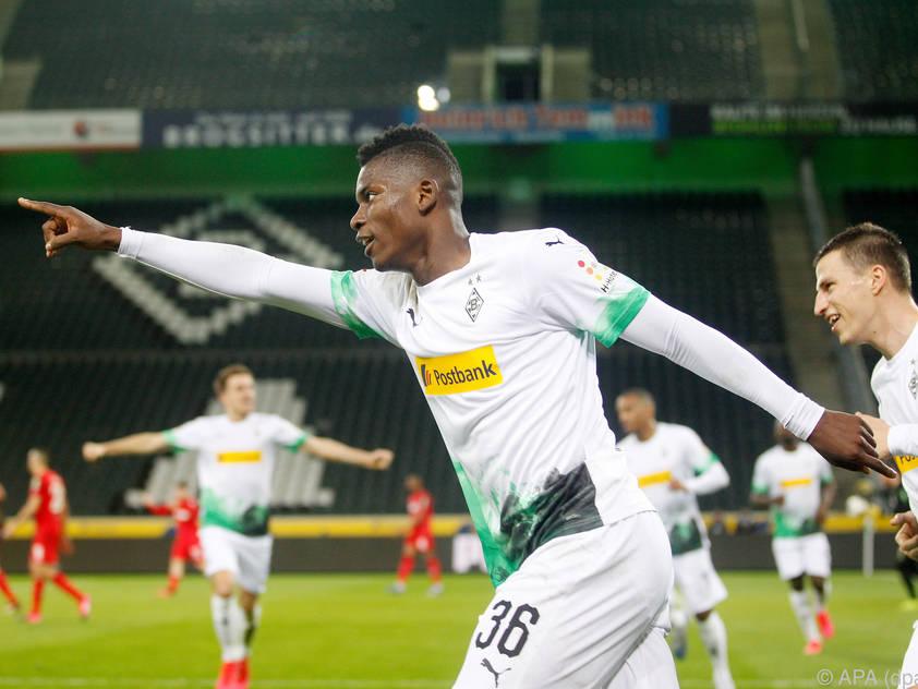 Breel Embolo traf zum 1:0 für Mönchengladbach
