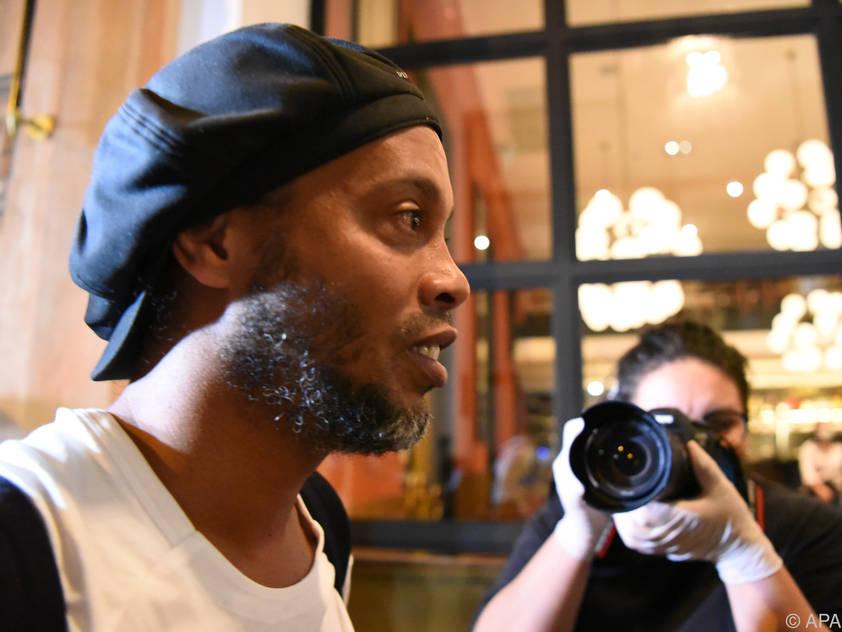 Mehr als 30 Tage saßen Ronaldinho und sein Bruder ein
