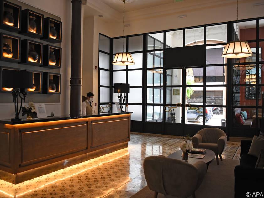 Die Suite im Palmaroga-Hotel kostet 350 Dollar pro Nacht