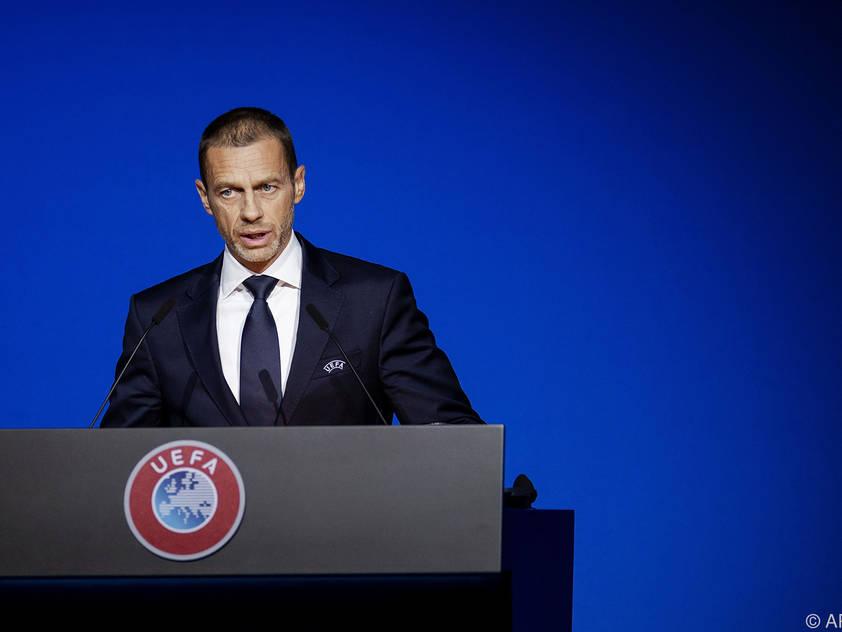 UEFA-Boss Ceferin appelliert an die 55 Mitgliedsverbände