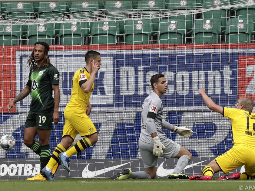 Borussia Dortmund ist auch im zweiten Spiel nach dem Restart siegreich