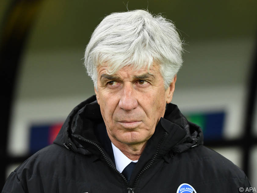 Atalanta-Bergamo-Trainer Gian Piero Gasperini