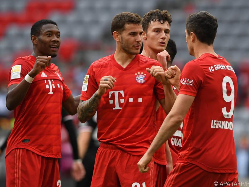 Nur noch wenige Schritte für die Bayern