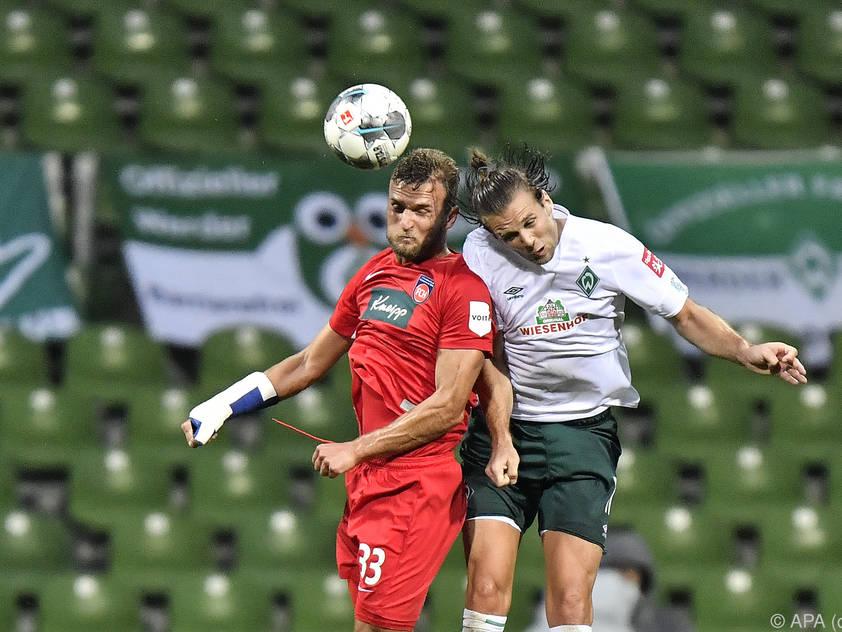 Das Relegationshinspiel endete 0:0