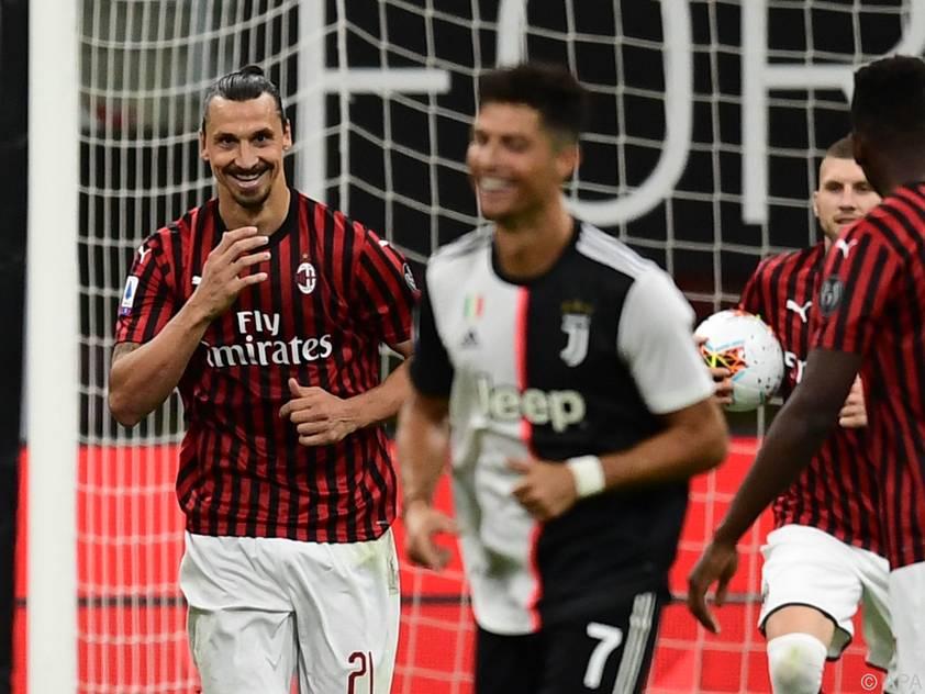Nach Elfertor von Ibrahimovic kann Ronaldo noch lachen