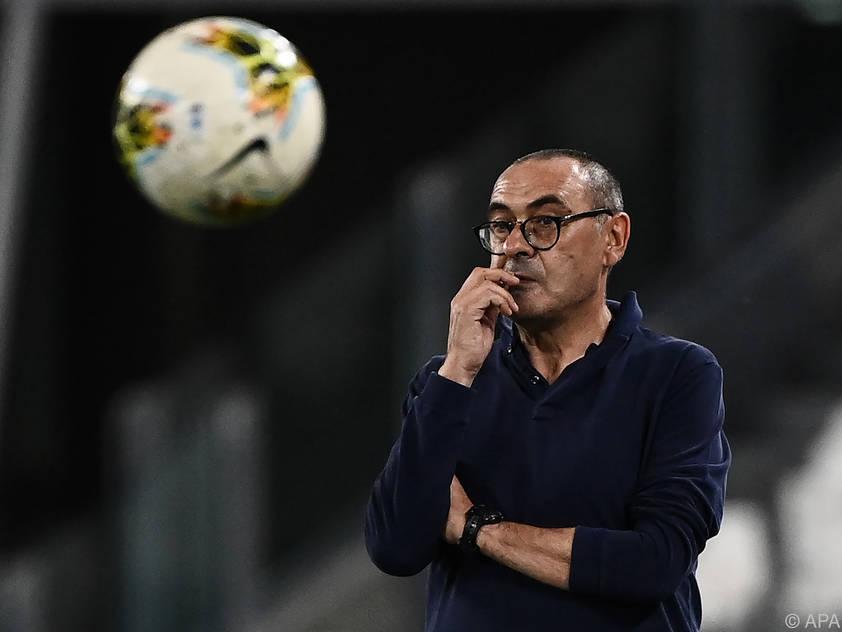 Maurizio Sarri muss für das Scheitern in der CL seinen Hut nehmen