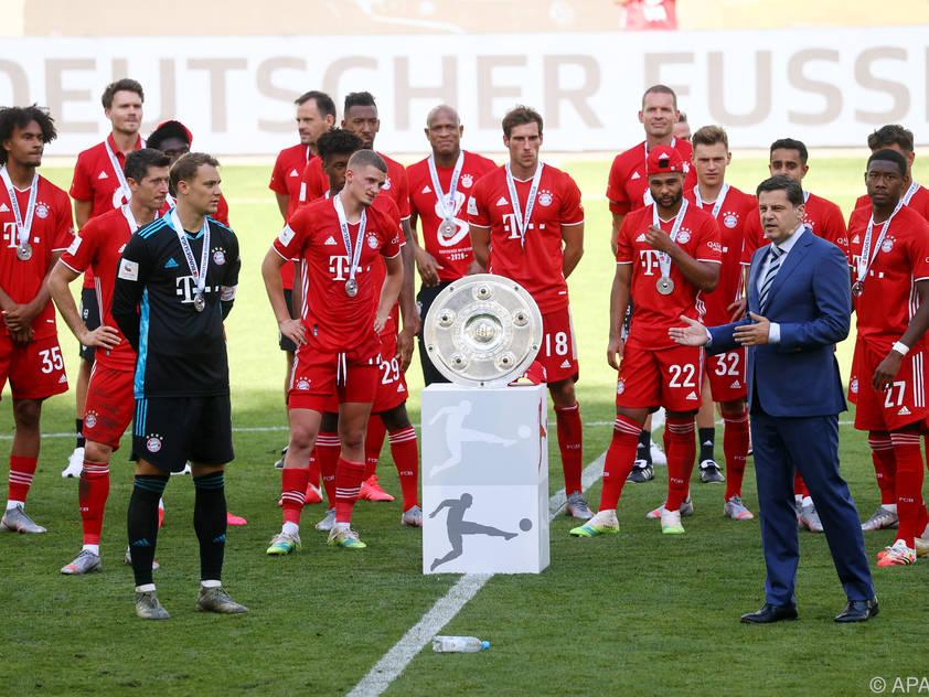 Die Bayern wollen auch in dieser Saison den Meistertitel wieder nach München holen