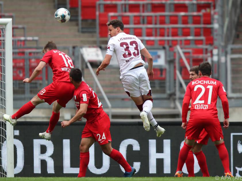 Georg Margreitter hält seinen Kopf für Nürnberg schon länger in der 2. Bundesliga hin