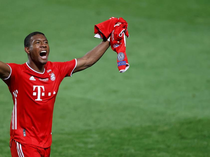 David Alaba blickt auf eine fantastische Saison zurück