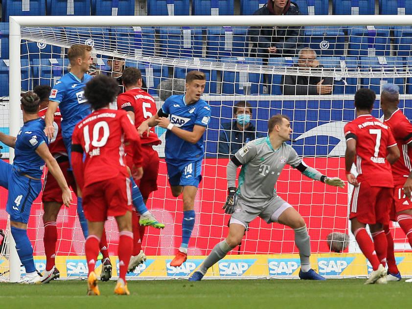 Die Hoffenheimer überraschten gegen die Bayern