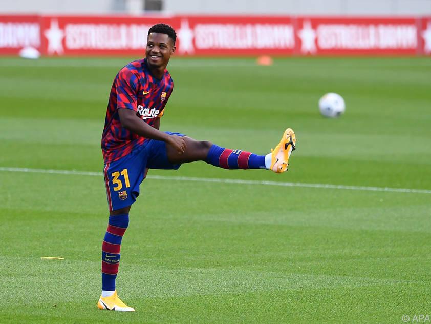 Fati soll das neue Gesicht des FC Barcelona werden