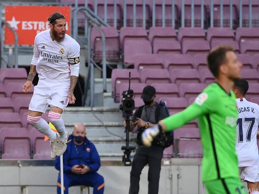 Sergio Ramos und Co. entführten drei Punkte aus Katalonien