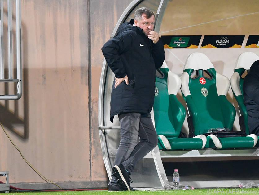 Pavel Vrba ist nicht mehr länger Coach von Ludogorets