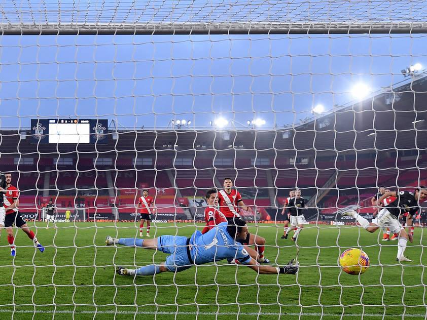 Southampton muss sich spät mit 2:3 gegen Manchester United geschlagen geben