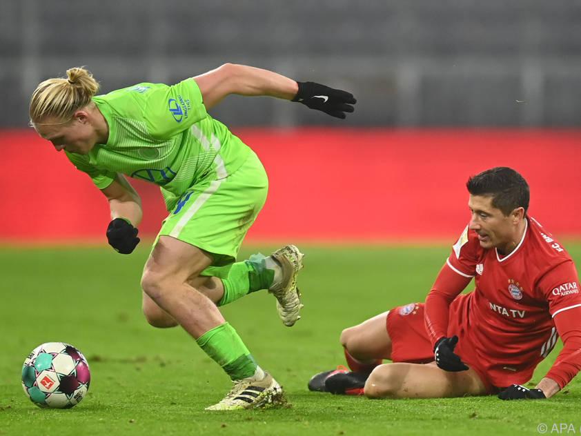 Der VfL Wolfsburg bestätigte das Fehlverhalten von Schlager (li.) und Co.