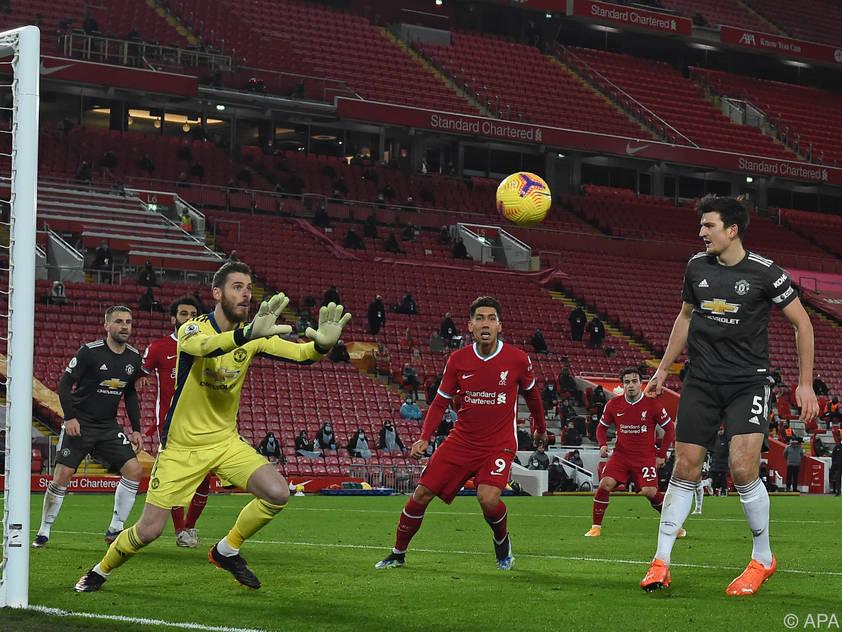 ManUnited-Torhüter De Gea ließ sich von Liverpool nicht bezwingen