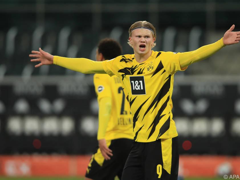 Zwei Tore von Erling Håland waren für den BVB nicht genug