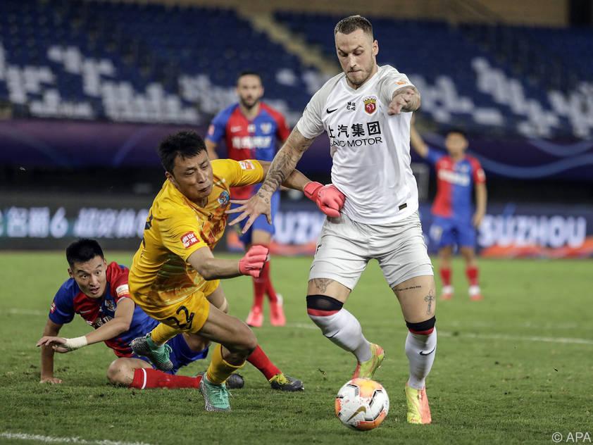 Marko Arnautović bereitet sich derzeit auf die neue Super-League-Saison vor
