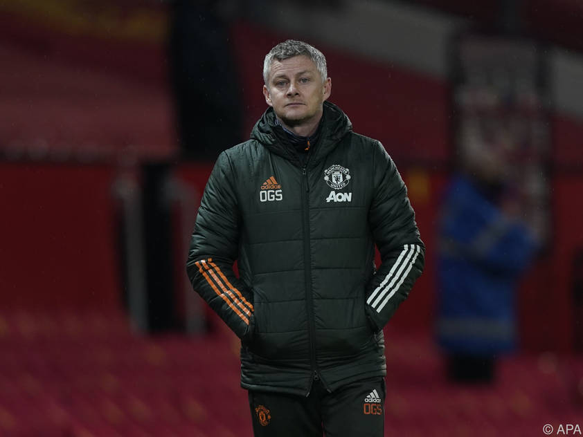 United-Coach Solskjaer erlitt mit seiner Truppe Schiffbruch