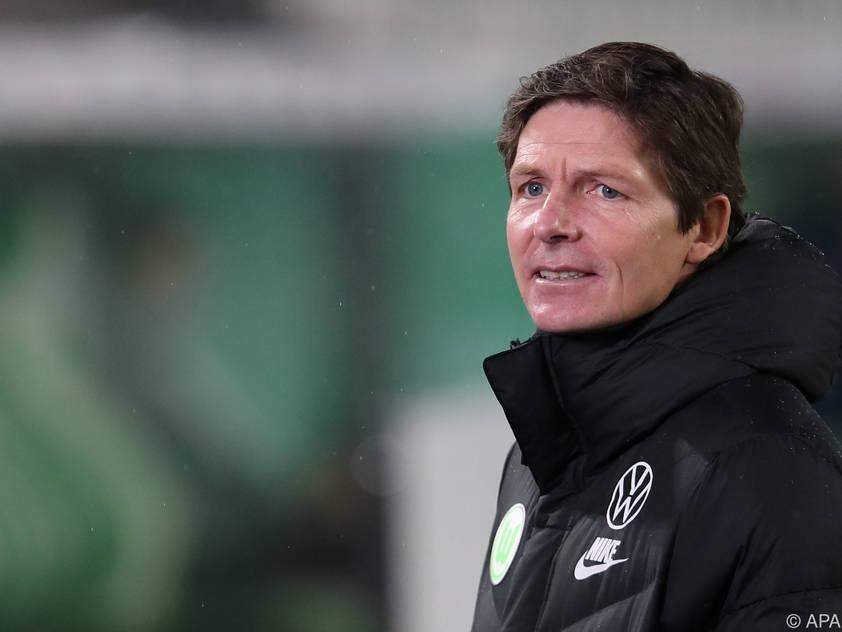 Wolfsburg-Coach Oliver Glasner hat