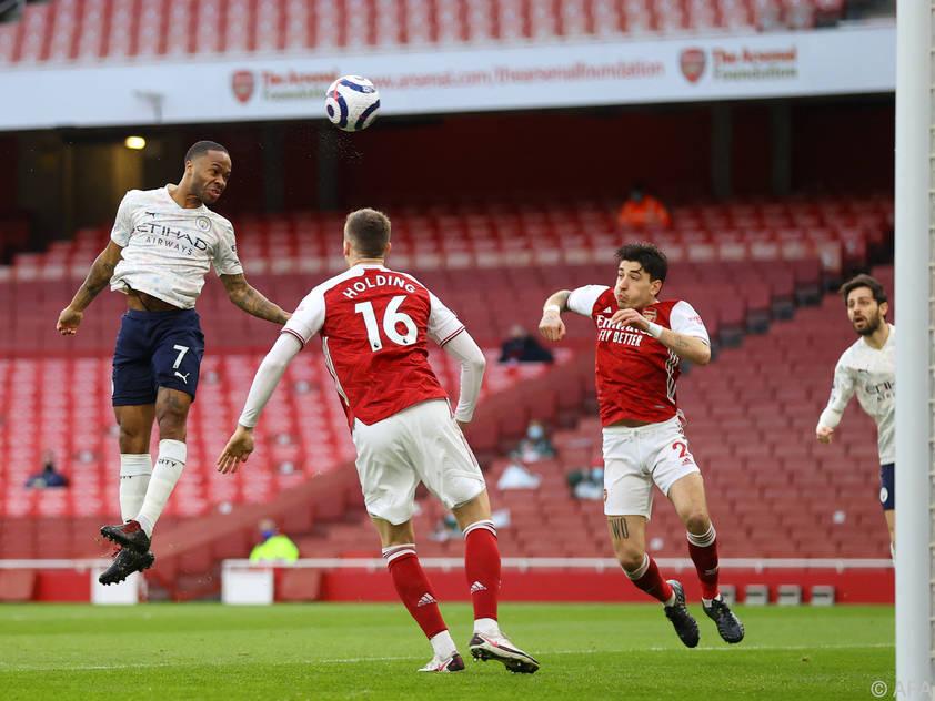 Sterling köpfelte ManCity zu Sieg bei Arsenal