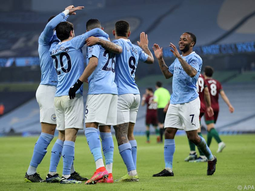 Manchester City bejubelt den 21. Sieg in Folge
