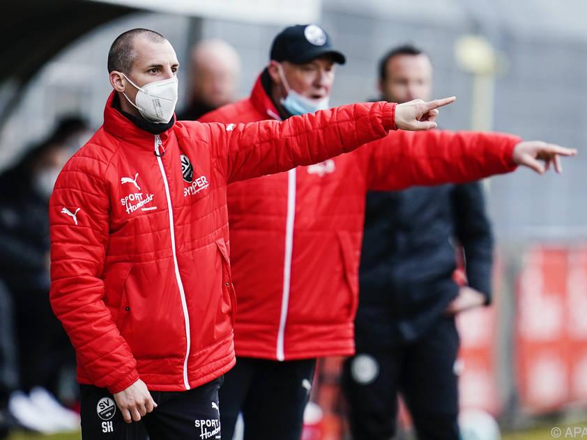 Kulovits will mithelfen, Sandhausen in der Liga zu halten