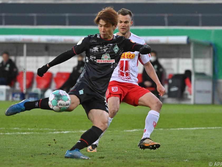 Yuya Osako erzielte den entscheidenden Treffer