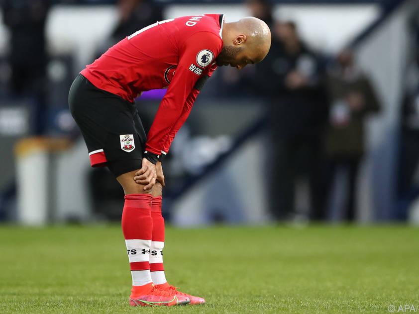 Hängende Köpfe bei Southampton nach der Niederlage gegen West Brom