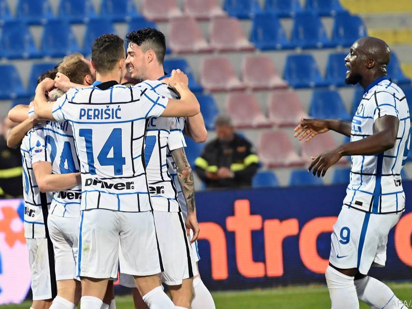 Inter Mailand bejubelt den ersten Meistertitel seit 2010