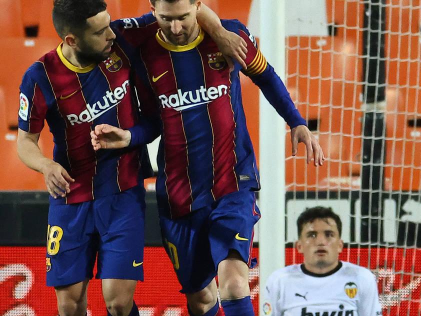 Lionel Messi führte Barcelona zu einem wichtigen Sieg