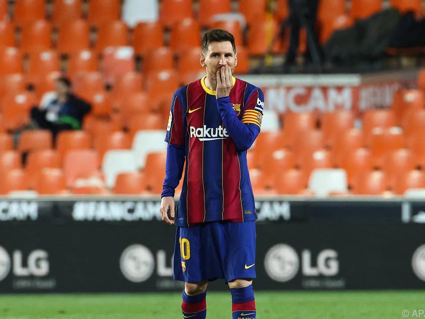 Messi droht Ungemach wegen Grillparty