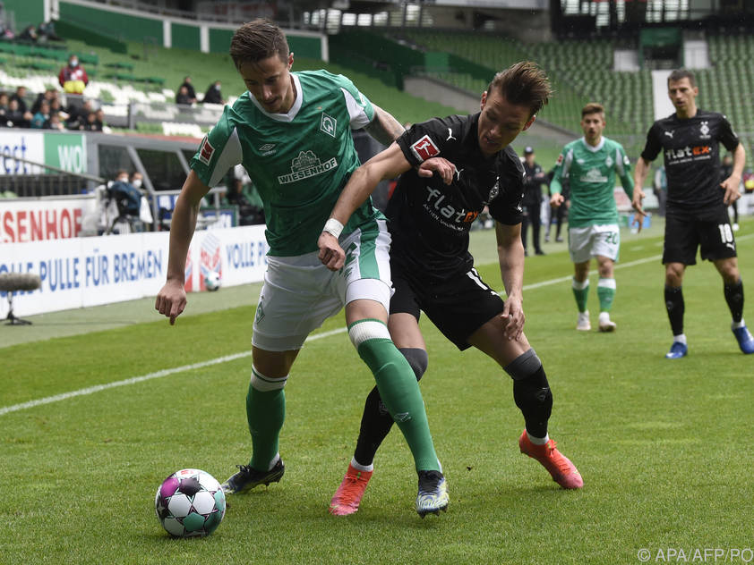 Marco Friedl (vorne) sorgte für Ärger bei Werder Bremen