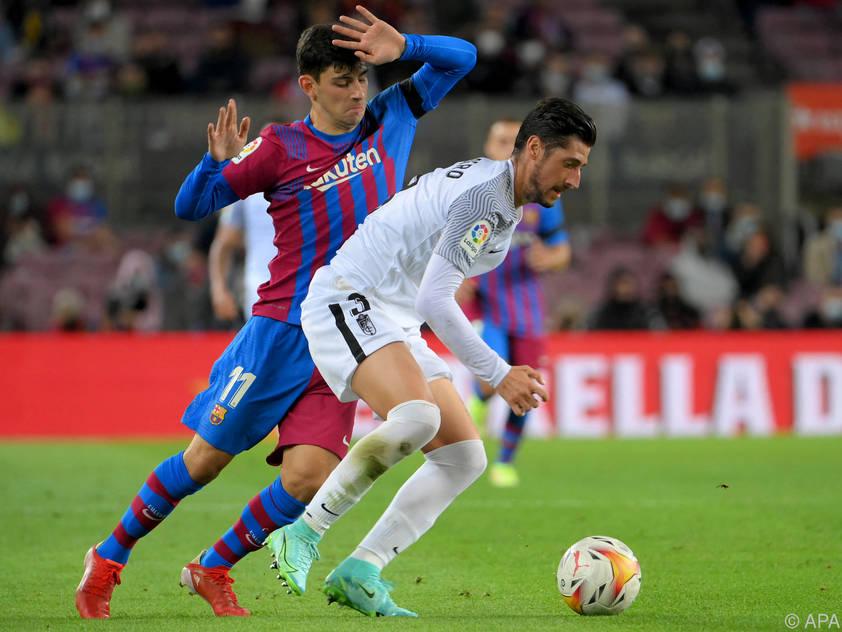 Yusuf Demir war für Barcelona 45 Minuten am Platz