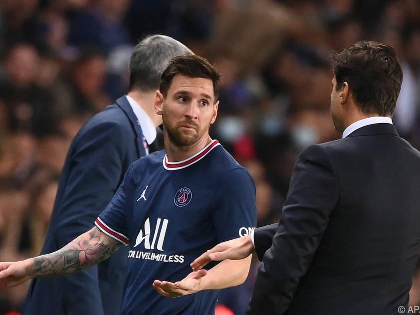 Zwangspause für Lionel Messi