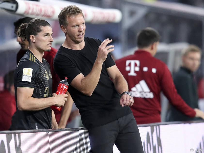 Man kennt einander: Sabitzer und Trainer Nagelsmann