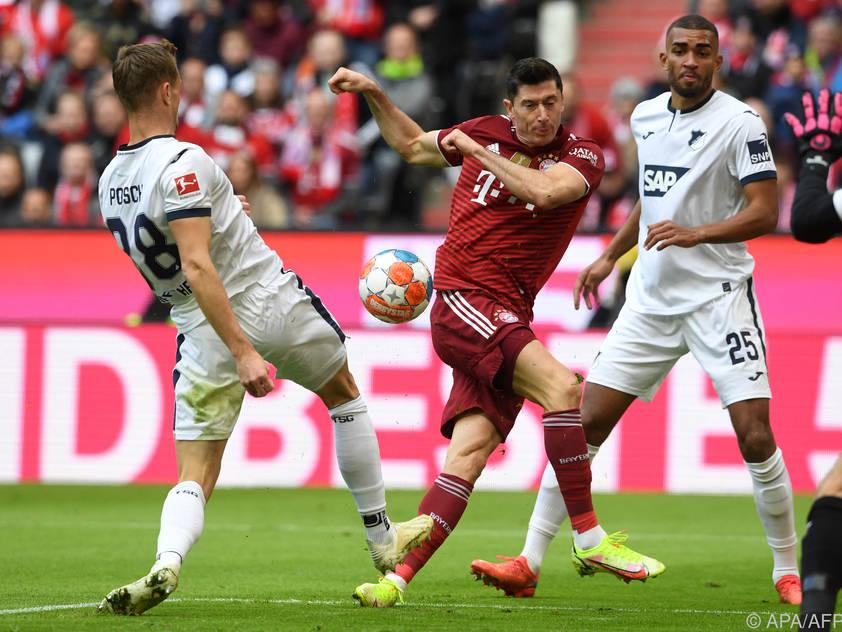 Lewandowski traf bei souveränem Bayern-Sieg gegen Hoffenheim