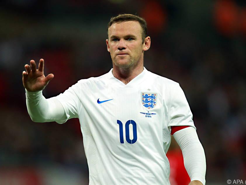 Wayne Rooney traf vom Elfmeterpunkt