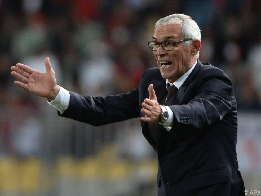 Ägypten-Coach Cúper kämpft gegen seinen Finalfluch