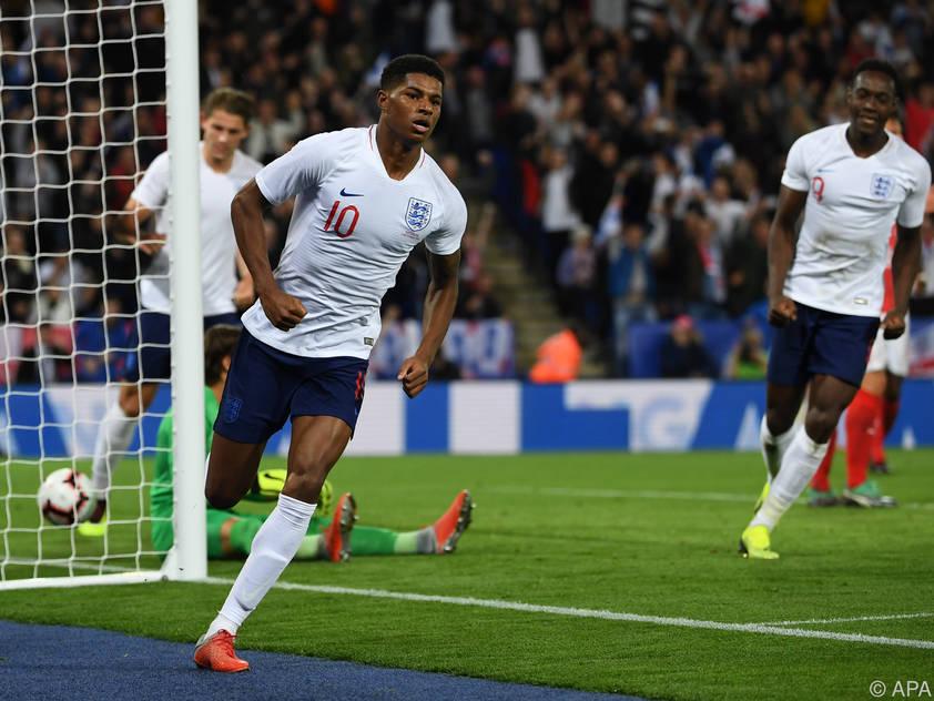 Rashord schießt die Engländer zum 1:0-Sieg gegen die Schweiz