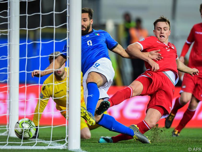 Italien fertigte Liechtenstein 6:0 ab