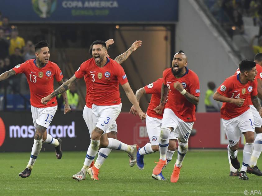 Chiles goldene Generation erneut im Halbfinale