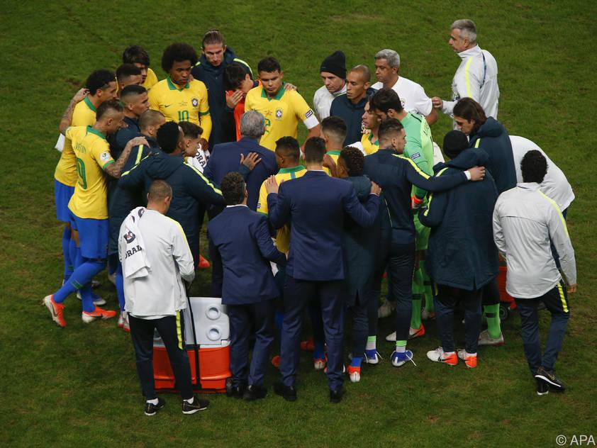 Für Brasilien steht gegen den ewigen Rivalen Argentinien viel am Spiel