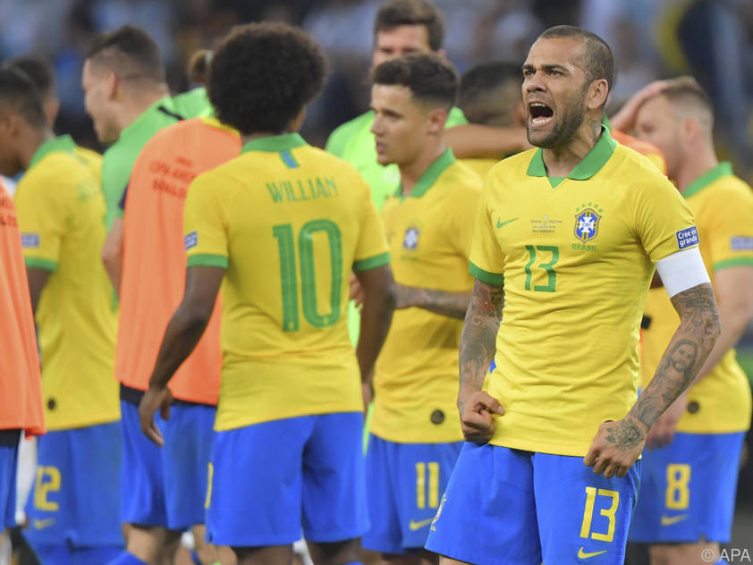 Brasilien schlug Peru bereits in der Vorrunde
