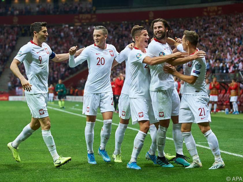 Polen buchte das Ticket für die EM