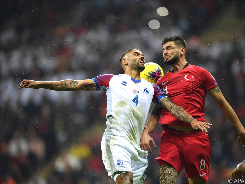 Den Türken reichte ein 0:0 gegen Island