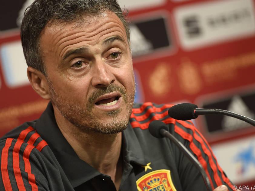 Luis Enrique kehrt nach einer Auszeit wieder als Teamchef Spanien zurück