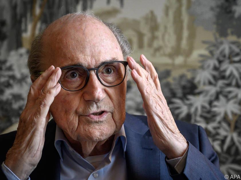 Der Schweizer Sepp Blatter